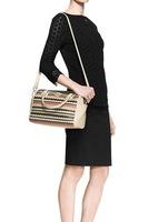 AC151 Modern Fashion multicolor women Bowling Boston bag satchel handbag shoulder bag sling bag messenger bags cross body
