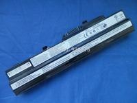 2200mah 3cell 11.1v New Laptop  Black Battery  For  MSI Wind U90 U100 U90X U100X Series BTY-S12 BTY-S11 BTY-S13 OS9-1762201