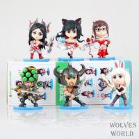 The anime wholesale LOL3 generation 6 hero alliance doll Q version set model doll