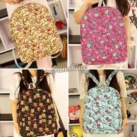Free Shipping Women shoulder bag 2014 men women backpack schoolbag College Style lady's backpack B6 SV008178