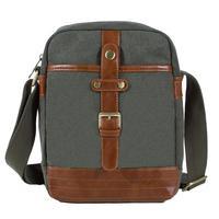 KAUKKO FG220 Canvas Fashion Single Shoulder Cross Body Tote Bag - Army Green
