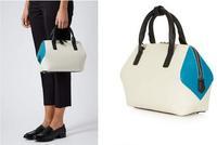 AC157 Modern Fashion elegant bicolor  women satchel handbag shoulder bag sling bag messenger bags cross body high quality