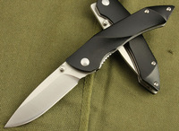 Wholesale Enlan high quality folding blade knives hunting camping knife aluminum handle pocket knife free shipping GJBEE-M026BK