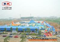 Giant Inflatable Aqua Park/Inflatable Water Park Equipment  KKMP-L005