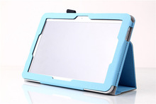 For Toshiba Encore 2 WT10-A 10 inch Tablet Leather Protective Case Cover With Stand With Hand Holder + Screen Stylus