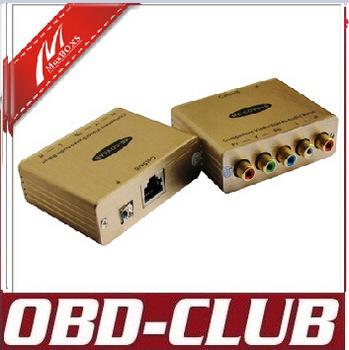 Component Video/Stereo Audio Balun tranmission audio server multiplexer splitter converter COVSAB(China (Mainland))