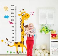 Hot Sell Children Room Kindergarten Giraffe Height Posted Third Generation Bedroom living Room Children's Room Wall Stickers
