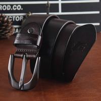 Genuine Leather Designer Belts For Men High Quality 2014 Famous Brand Men Belt Leather Cinto Masculino Ceinture Luxury MBT0205
