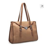 South Korea flowers image series dual-use package jacquard high quality women message bag women handbag