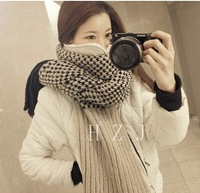 New winter cashmere wool scarf super thick double-sided scarf M201