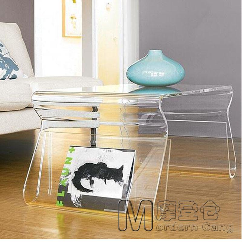 Modern Warehouse Karim Rashid stool transparent acrylic shelves a few small edge book shelves Magazine(China (Mainland))