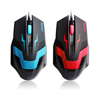 New Led Optical 1600DPI Adjustable USB Wired PC Gaming Game Mouse Mice Tonsee