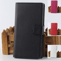 Luxury Flip PU Leather Case For Motorola Moto E XT910 XT925 XT926 Stand Cover Back Cases With Card Holder Wallet