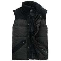 2014 men's casual clothing outerwear cotton vest male slim plus size plus size vest