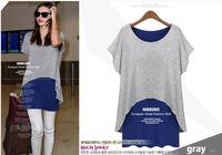 New Fashion2014 temperament long-sleeved T-shirt SK061031