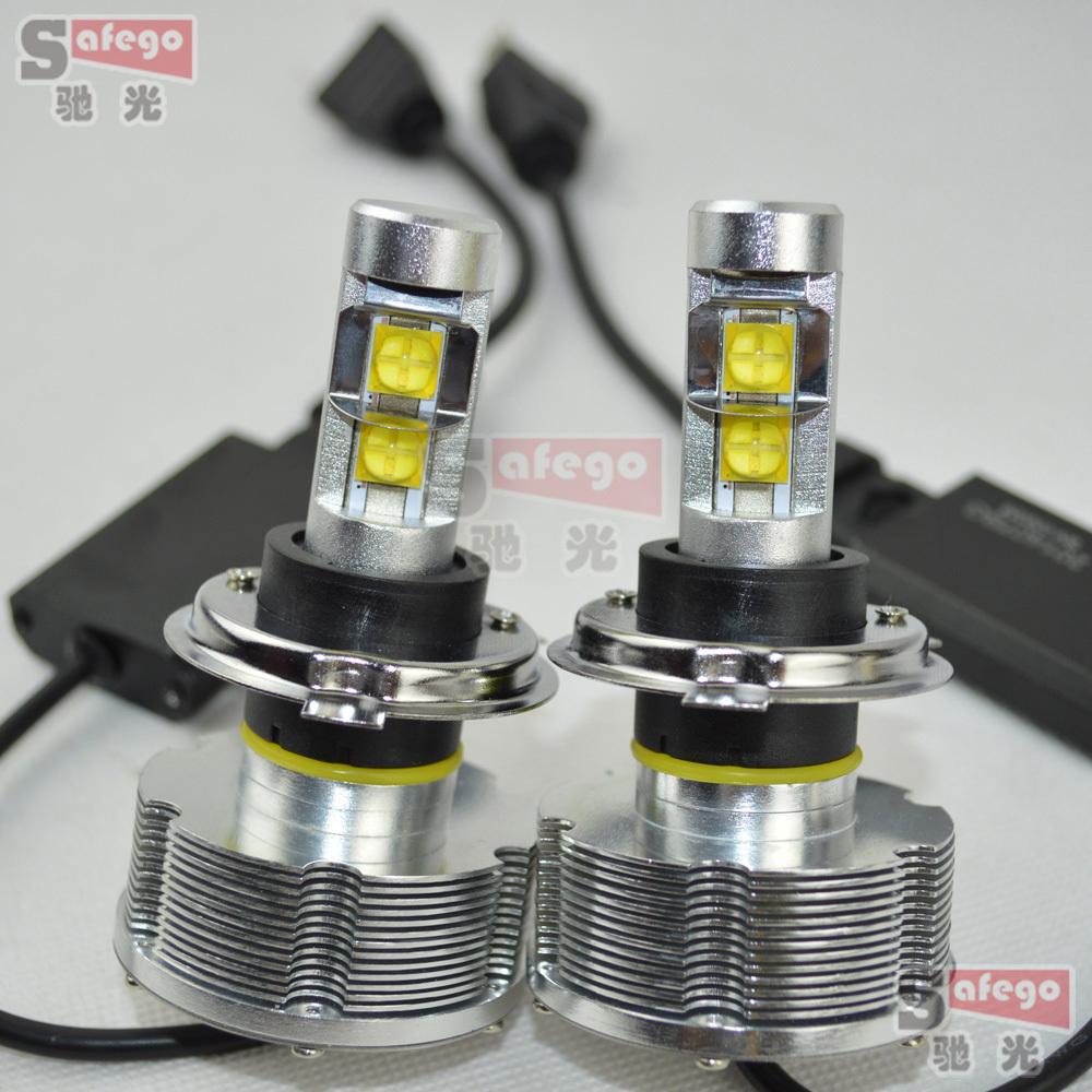1set 5600LM U.S. 30w cree H4 led headlight lamp Hi/Lo car auto H13 led headlight bulbs HB1 9004 HB5 9007 led headlight bulb(China (Mainland))