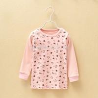 Promotions Cheap 80-130 Baby Girls Boys Children's Sleepwear&Robe Kids 100% cotton Pajama Tops  Free Shipping