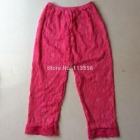 wholesale boutique kid wear baby lace leggings Long pants 100pcs/lot Free shipping