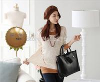 2014 women's handbag shoulder bag vintage handbag female brief cross-body bag big free shipping