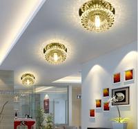 3W LED Chandelier Lights Lamps Modern Lights for Living Room G4 Bulb Crystal Lampshade Home Lighting AC200-240V Abajur