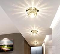 3W modern led ceiling lights for living room G4 led bulb lamps AC200-240V light fixtures white warm white red green blue