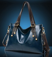 European and American style leather handbag shoulder bag lady handbag  famous brands