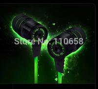 Brand razer Hammerhead gaming headphone (No microphone) Stereo Deep  Bass in ear earphone high quality Free shipping