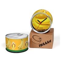 Banana Designs Kitchen Fridge Magnets Wall Clocks Cheap Desk Table Function Clocks 2pcs a lot Free Shipping