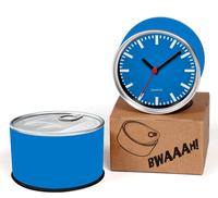 Blue Color Designs Kitchen Fridge Magnets Wall Clocks Cheap Desk Table Function Clocks 2pcs a lot Free Shipping