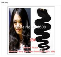 Free shipping factory direct 100% Brazilian human hair 32 inch big screen curls 100g / pack
