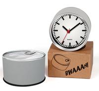 White Color Designs Kitchen Fridge Magnets Wall Clocks Cheap Desk Table Function Clocks 2pcs a lot Free Shipping