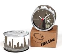 UK London Capital City Designs Kitchen Fridge Magnets Wall Clocks Cheap Desk Table Function Clocks 2pcs a lot Free Shipping