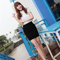 2014 slim hip skirt ol slim women's professional skirt bust skirt medium skirt step skirt short skirt qunzi