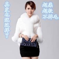 New 2014 Women's most popular Fur Jacket Long-haired Fox Fur Coat Korean  Fur Vest
