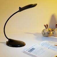 Cottage led surface light source folding eye small bedside lamp