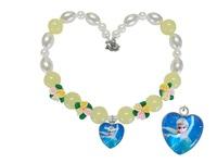 Beautiful  Handmade Chunky Elsa Frozen Necklace