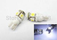 2014 Sale Seconds Kill External Lights Free Shipping Wholesale 100pcs Car Led Lamp T10 W5w 194 5050 Smd 5 Light Bulbs