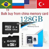 Worldwide Free shipping TF Card 128gb Memory card 64gb micro sd card micro sd 128gb class 10 flash card 32gb huge capacity 128gb