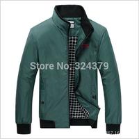 2014 Autumn winter Men coat / 9829 Men's jacket / blazer collar men's casual / factory outlets / 3 color / size XL-5XL 311