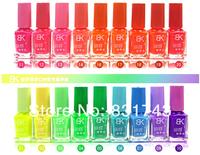 1pcs 2014 New Hot Sale Colors Fluorescent Luminous Neon Glow In the Dark Varnish Paint Nail Art Polish