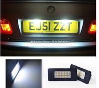Free shipping ORIGINAL LED LICENSE PLATE LAMPS/LIGHTS,NUMBER PLATE LIGHTS FOR BMW E39 E46 E60 E61 E90 E91 E92 E93 E70 E71