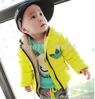 2014 new Brand Children's down jacket warm down-filled jacket children's wear cotton-padded jacket warm children coats