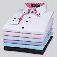 Free shipping men's High quality shirt business casual long sleeved shirt S-XXXL