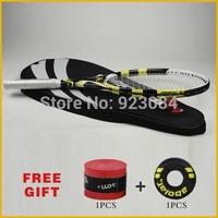 Aero Pro Drive GT tennis racket Nadal carbon fiber aeropro storm gt racquete/racquets string tennis grip size: 4 1/4 4 3/8