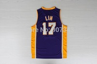 #17 Jeremy Lin Jersey,Cheap Basketball Jersey New Material Rev 30 Authentic Jersey Stitched Logo Embroidery Sport Jersey