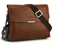 2014 Real Portfolio High Quality Men Messenger Bag,fashion Genuine Leather Male Shoulder Bag ,casual Briefcase Brand Name Bags