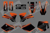 0539 (black&orange)NEW GRAPHICS DECALS FOR KTM50 SX50 SX 50CC 50 2002 03 04 05 06 07 08