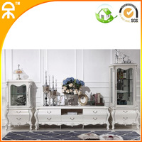 1wine cabinet+higher cabinet +1.6m tv stand )/lots white cabinet for eurpean design