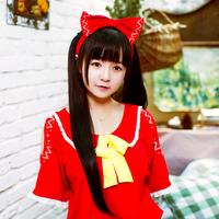 TouHou Project Cosplay Costume Hakurei Reimu Cosplay Jumpsuit / leisure wear