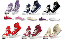 7 Colors All US size Taylor Classic Chuck High&Low Top Style Casual star Lover Canvas Shoes(China (Mainland))